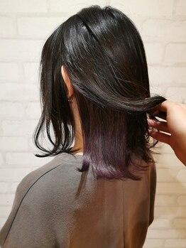 ヘアー アンド ケア コットン(Hair&care cotton)の写真/流行を取り入れたデザインカラーや似合わせカラーならお任せ♪お悩みの方はスタイルページをご参考ください