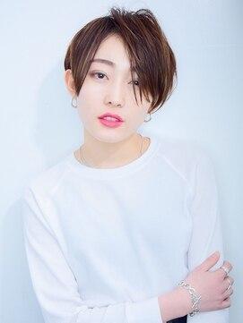 ラウンジ モリオ イケブクロ(Lounge MORIO Ikebukuro)【morio池袋】大人かわいいデザインカラー小顔丸みショート#