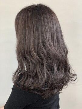 ヘアルーム キキョウ(hair room Kikyo)グレージュカラー