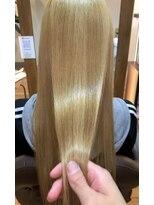 髪質改善トリートメント/艶サラ/ブリーチ/ミルクティー