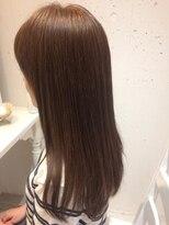 ヘアー カラー キー(HAIR color KEY)束感ロング