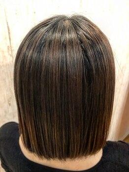 コニー(Cony)の写真/【話題の酸熱トリートメント導入!】オーダーメイド髪質改善トリートメントで指通り滑らかな艶髪を実現♪