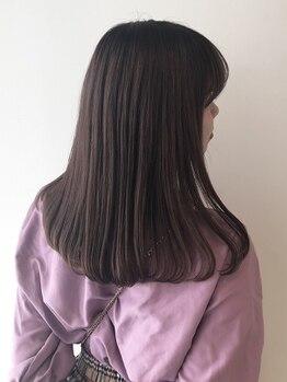 ナンブスカイ(nambu-SKY)の写真/自然なストレートに仕上がるのはもう当たり前!短時間で【圧倒的ツヤ】が手に入るダメージレスなヘアに…☆