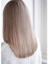ヘアーラウンジ ハピル(Hair lounge Hapir)【髪質改善】ホワイトベージュ