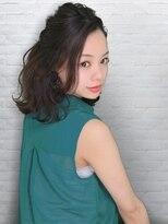 テラスラックスビー 阿倍野アポロ店(TERRACE LUXBE)ふんわり上品ハーフアップ