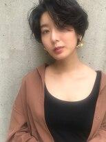 ヘアーアンドメイク フォルス(HAIR&MAKE FORS)【FORS】西田ゆか 透け感*おとなショート