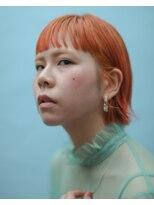 ロコルの新色バレンシアでオレンジヘア▼LINEID@vey3047y