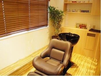 ルアナ 蒲田(LUANA)の写真/《スパならLUANA☆》半個室空間で受けるオーガニックヘッドスパは格別♪美しい頭皮・髪を手に入れましょう.