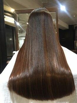 ワンパーセンタープロフェッショナル(1%er professional)の写真/[銀座3分/東銀座30秒]プロの知識と高い技術力でしっかりお悩み解決!内部補修トリートメントで美髪へ導く☆