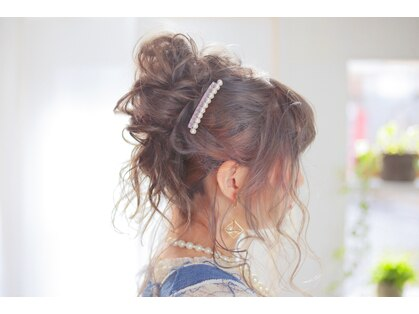 ヘアメイク エンカレッジ(HAIR MAKE encourage)の写真