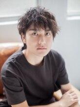美容室 リズヘアー 稲毛店(Riz hair)☆束感がかっこいい☆Mixパーマ☆【稲毛】
