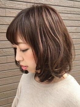 ヘア プレイス ジュア(hair place jua)の写真/【ホイルワーク10枚付!カラー+カット⇒¥6480】似合わせ×トレンドのMIXで、あなただけのスタイルをご提案♪