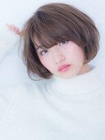 オーブ ヘアー ルル 京都四条通り店(AUBE HAIR lulu)エアリー♪ショートボブ♪