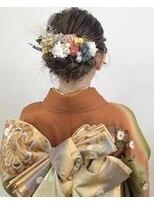 成人式 hair set 【maiko】【park】【吉祥寺】