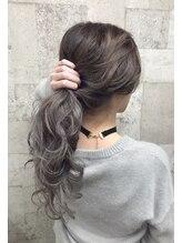 ナンバーナイン 札幌大通(NUMBER NINE)☆silver gray × long style☆