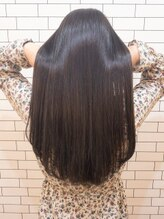 オーストヘアー 銀座(Aust hair)うる艶ロングラベンダーシルバー【リンゴ幹細胞トリートメント】