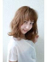 モード ケイズ 塚本店(MODE K's)ハニーヘア エフォートレス ☆厚めバング