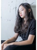 オゥルージュ(Au-rouge noma)【aurouge noma 石井美紗紀】黒髪 ウェーブ スタイル