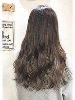 ヘアーアンドメイク ポッシュ 新宿店(HAIR&MAKE POSH)柔らかグレージュグラデーション