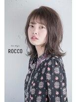 ヘアデザイン ロッコ(hair design ROCCO)*ウルフミディ*