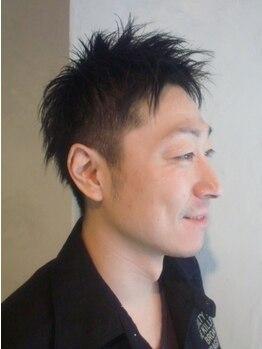 ヘアーデザイン スワロー(hair design Swallow)の写真/経験豊富なメンズオーナースタイリストが担当。オールドアメリカンをイメージした店内で、お洒落にキマる。