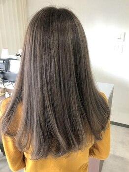 バベル(BABEL Hair Design)の写真/クセやうねりが気になる方にオススメ!お悩みを改善し自然なストレートで毎朝のお手入れが簡単にキマル♪