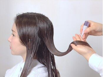 サンクドゥサエラの写真/ダメージ髪にたっぷり栄養を補給♪髪質・お悩みに合わせて組合せができるワンランク上のトリートメントを☆