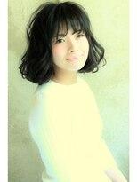 エルアール コウベ(LR KOBE)【LR KOBE】 束感バング×セミウエットボブ 三浦