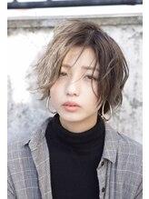 ヘア サークル ジープ 石井店(hair circle geep)ハイライトおしゃれショート