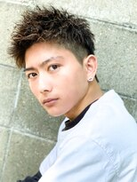 【L-MARK 池谷義彦】短髪/ソフトツイスト×アップバング