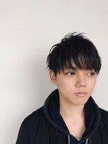 ブリッツレボルト(BLITZ R EVOLUT)黒髪マッシュ
