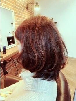 エデン(Eden)の写真/【自慢の◇オイルカラー◇】旬のトレンドカラーが叶う♪潤いを閉じ込めて、透明感あふれる自然な艶髪へ…