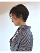 ジーナハーバー(JEANA HARBOR)【JEANAHARBOR表参道】くせ毛の方におすすめショート!