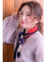 ノットヘア×大人ポニーヘアアレンジ【hair design collet】