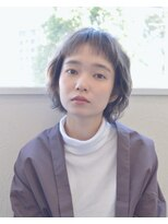 【soy-kufu】眉上前髪のエアリーショート