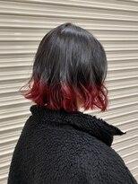 ボタニウム(BOTANIUM)レッド×裾カラー