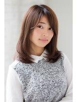 ジョエミバイアンアミ(joemi by Un ami)【joemi】笑顔になれる☆清楚グラデーションセミディ(大島)