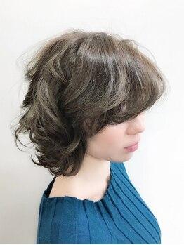 ユーアールアルシュ(UR Arche)の写真/《オラプレックスカラー》でダメージを抑える!気になり始めの白髪をしっかりカバーし、お洒落も楽しめる☆