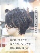エトネ ヘアーサロン 仙台駅前(eTONe hair salon)【eTONe】25歳からのハンサムショート