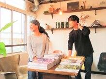 アカリ ヘアースタジオ(Akari Hair Studio)の雰囲気(こだわりのインテリア達になんだか癒されます…)