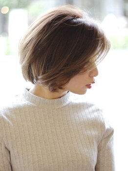 ツネ(TsuNE)の写真/オーガニックカラーや漢方カラー、天然ヘナなど髪や頭皮に優しい上質な薬剤。鮮やかな透明感ある色味が叶う