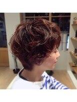 ハブコヘアスパ(HaBCo hair spa)ゆるふわデジパ☆マッシュショート