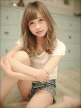 ジブ(Jibu)【Jibu】重×軽バランスで似合わせカット柔らかイノセントカラー