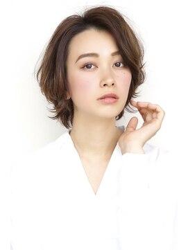 ソレイユ(Soleil)Soleil菊地/耳かけ夏のヘアアレンジイメチェンヘアスタイル小顔