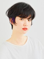 レガーレ(Legare)黒髪ベリーショート