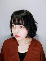 コテいらずで波巻きパーマボブ☆【薬師神】
