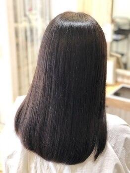 シースアクシア(X axia)の写真/3ステップ自家製トリートメントでうる艶髪に☆髪・頭皮の内部補修に加えキューティクルや皮膚の保湿も◎