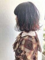 ヘアメイク オブジェ(hair make objet)インナー RED ☆★KAI☆★