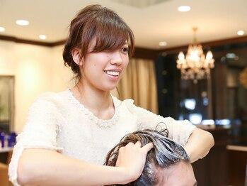 ヘアートップス hair top'sの写真/[いつまでも綺麗でいたい☆]そんな大人女性向けサロン!年齢を重ねる毎に増える女性ならではのお悩み解決♪