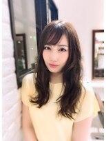 ルルカ ヘアサロン(LuLuca Hair Salon)【LuLuca豊中/蛍池】揺れ髪パーマスタイル